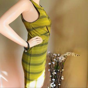 Bar III Dresses - Bar lll Beautiful Color Gold Dress Sleeveless